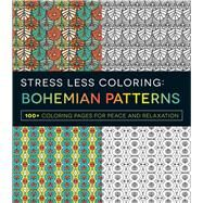 Bohemian Patterns Adult Coloring Book by Adams Media, 9781440595073