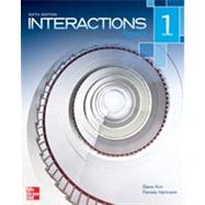Interactions Level 1 Reading Student Book by Kirn, Elaine; Hartmann, Pamela, 9780077595074