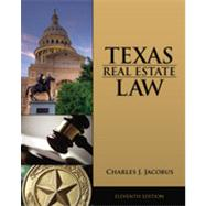 Texas Real Estate Law by Jacobus,Charles J., 9781133435075