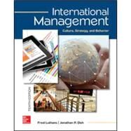 International Management: Culture, Strategy, and Behavior 10th Edition by Luthans, Fred; Doh, Jonathan, 9781259705076