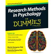 Research Methods in Psychology for Dummies by Dempster, Martin, Ph.D.; Hanna, Donncha, Ph.D., 9781119035084