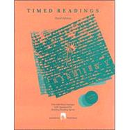 Timed Readings : Book Six: Fifty 400-Word Passages with Questions for Building Reading Speed