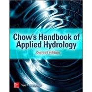 Handbook of Applied Hydrology, Second Edition by Singh, Vijay, 9780071835091