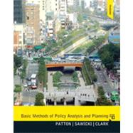 Basic Methods of Policy Analysis and Planning by Patton; Carl, 9780137495092