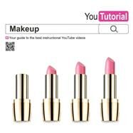 YouTutorial: Makeup Your Guide to the Best Instructional YouTube Videos by Jones, Caroline, 9781780975092