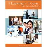 Hospitality Today: An Introduction by Angelo, Rocco M.; Vladimir, Andrew, 9780866125093