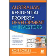 Australian Residential Property Development for Investors by Forlee, Ron, 9780730315094