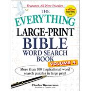 The Everything Large-Print Bible Word Search Book by Timmerman, Charles, 9781507205099