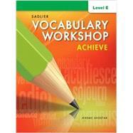 Vocabulary Workshop Achieve Level E Grade 10 by Jerome Shostak, 9781421785103