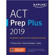 Act Prep Plus 2019 by Kaplan Test Prep, 9781506235103