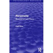 Personality: Measurement and Theory by Kline; Paul, 9781138905108