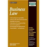 Business Law by Emerson, Robert W., 9781438005119