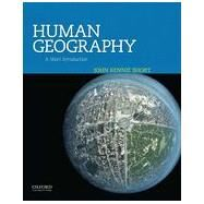 Human Geography A Short Introduction by Short, John Rennie, 9780199925124