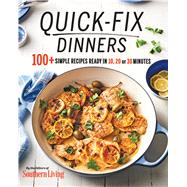 Quick-fix Dinners by Southern Living Magazine, 9780848755126
