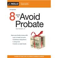 8 Ways to Avoid Probate by Randolph, Mary, 9781413325133