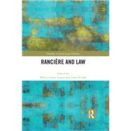 Ranciere and Law by Lopez Lerma; Monica, 9781138955134
