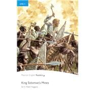 King Solomon's Mines, Level 4, Penguin Readers by Pearson Education, 9781405865135