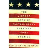 The Vintage Book of Contemporary American Short Stories at Biggerbooks.com