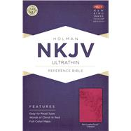 NKJV Ultrathin Reference Bible, Pink LeatherTouch Indexed by Unknown, 9781433615146