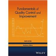 Fundamentals of Quality Control and Improvement by Mitra, Amitava, 9781118705148