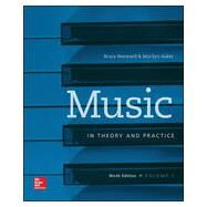 Music in Theory and Practice Volume 1 by Benward, Bruce; Saker, Marilyn, 9780078025150