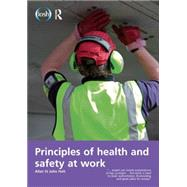 Principles of Health and Safety at Work by Holt,Allan St John, 9781138855151