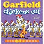 Garfield Chickens Out by Davis, Jim, 9780425285152