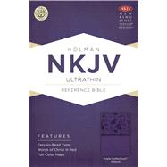 NKJV Ultrathin Reference Bible, Purple LeatherTouch by Unknown, 9781433615153
