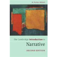 The Cambridge Introduction to Narrative by H. Porter Abbott, 9780521715157