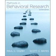 Methods in Behavioral Research by Cozby, Paul; Bates, Scott, 9780078035159