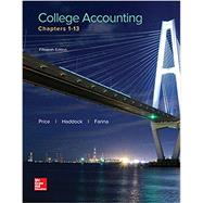 LooseLeaf for College Accounting: Chapters 1-13 by Price, John; Haddock, M. David; Farina, Michael, 9781259995163