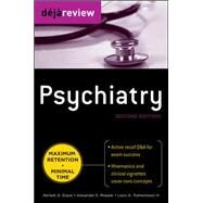 Deja Review Psychiatry, 2nd Edition by Gopal, Abilash; Ropper, Alexander; Tramontozzi, III, Louis, 9780071715164