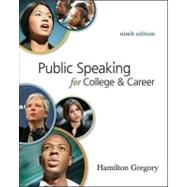 Public Speaking for College and Career by Adler, Ronald B.; Elmhorst, Jeanne Marquardt, 9780073385167