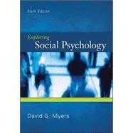 Exploring Social Psychology by Myers, David, 9780078035173