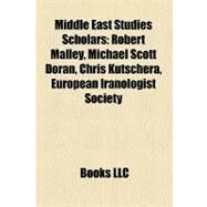 Middle East Studies Scholars by , 9781158595174