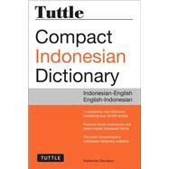 Tuttle Compact Indonesian Dictionary by Davidsen, Katherine, 9780804845175