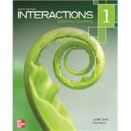 Interactions 1: Listening / Speaking by Tanka, Judith; Most, Paul, 9780077595180