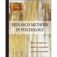 Research Methods in Psychology by Shaughnessy, John; Zechmeister, Eugene; Zechmeister, Jeanne, 9780078035180