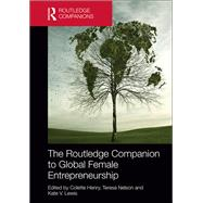 The Routledge Companion to Global Female Entrepreneurship by Henry; Colette, 9781138015180