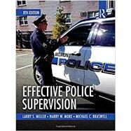 Effective Police Supervision by Braswell; Michael, 9781138225183