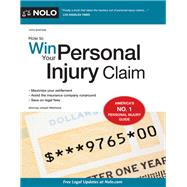 How to Win Your Personal Injury Claim by Matthews, Joseph, 9781413325195