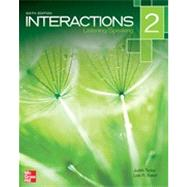 Interactions 2 Listening / Speaking by Tanka, Judith; Baker, Lida R., 9780077595197