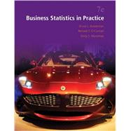 Business Statistics in Practice with Connect by Bowerman, Bruce; O'Connell, Richard; Murphree, Emilly, 9781259675201