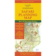 Safari Planning Map To East And Southern Africa Okavango Delta To Victoria Falls, Serengeti To Mt. Kilimanjaro, Best Time To Go/wildlife Charts