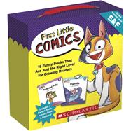First Little Comics Parent Pack: Levels E & F 16 Funny Books That Are Just the Right Level for Growing Readers by Charlesworth, Liza, 9781338255218
