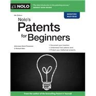 Nolo's Patents for Beginners by Pressman, David; Stim, Richard, 9781413325218