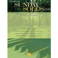 Seasonal Sunday Solos for Piano : Christmas, Holy Week, Pentecost, Thanksgiving and More by Hal Leonard Publishing Corporation, 9781423475224