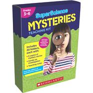 SuperScience Mysteries Kit 20 Whodunits With Hands-On Investigations to Help Solve the Mysteries by Scholastic, 9781338255225