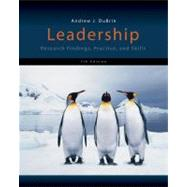Leadership : Research Findings, Practice, and Skills by DuBrin, Andrew J., 9781133435228