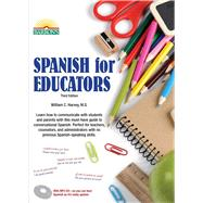 Spanish for Educators by Harvey, William C., M.s., 9781438075228